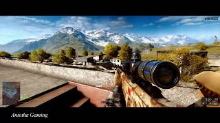 Battlefield 4 Sniper Montage #2/Full ultra settings/PC/G-Sync/Ultrawide