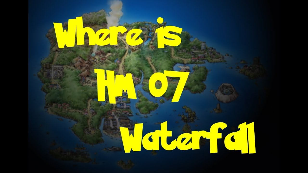 Pokemon Ruby Where To Find Hm Waterfall Best 2017