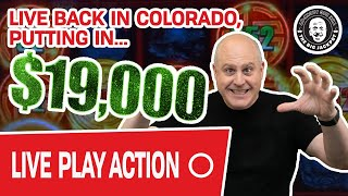 🔴 LIVE with $19,000 ⛰ BACK HOME in Colorado