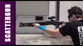 Jag Arms Gas Shotgun Scattergun - Airsoft Review