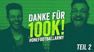 Wird Deutschland Weltmeister? Das 100K Abonnenten Special - Ask us Anything - Teil 2