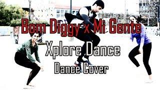 Bom Diggy x Mi Gente | Zack Knight x Jasmin Walia | Dance Choreography