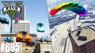 MUCHACHOS MACHEN MIST - STREAM CHAOS! (+DOWNLOAD) | GTA 5 - CUSTOM MAP RENNEN