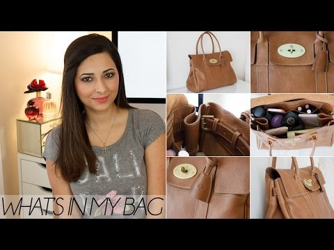 What's In My Bag: Mulberry Bayswater Review   Le Beauty Girl