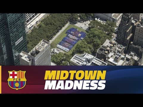 INSIDE TOUR | Massive fan presence in Manhattan