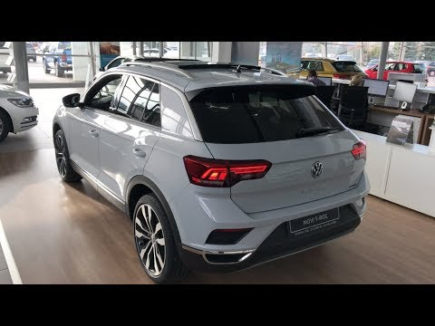 NEW T Roc Sport 4 motion 2018 first look in 4K