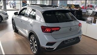 NEW T-Roc Sport 4 motion 2018 first look in 4K