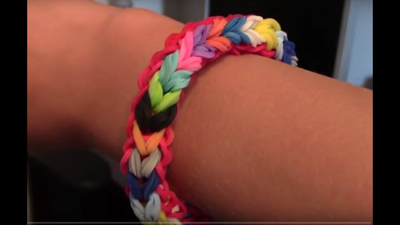 Comment faire un bracelet double cot avec des lastiques you - Comment doubler un rideau ...