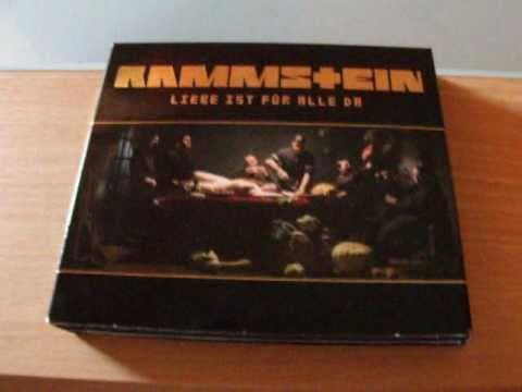 Rammstein Liebe Ist Fur Alle Da Album Unboxing Youtube