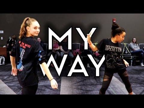 My Way - One Bit & Noah Cyrus  | Radix Dance Fix Season 2 | Brian Friedman Choreography Mp3