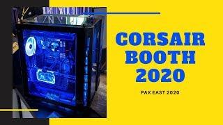PAX EAST 2020 - Corsair Booth