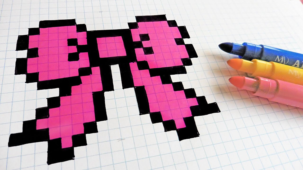 Handmade Pixel Art How To Draw Hair Tie Pixelart