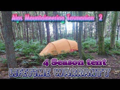 Alps Mountaineering Tasmanian 2 Person Lifetime Warranty 4 Season Winter Tent