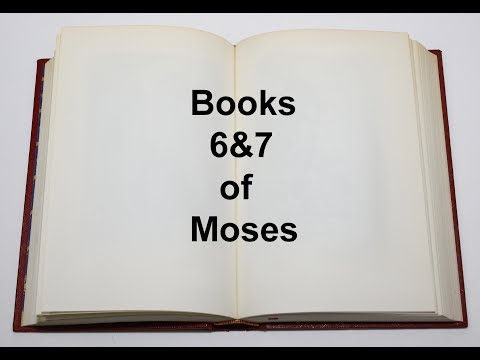 Download Books 6 & 7 of Moses