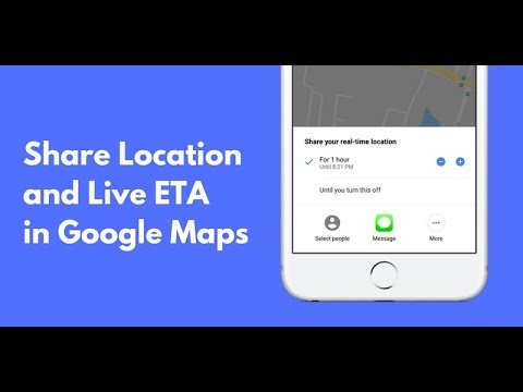 Live location sharing in Google maps in telugu