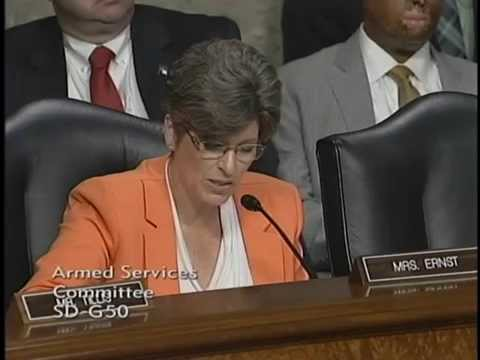 Sen. Ernst Questions Chief of Naval Operations Nominee on Implications of the Iran Agreement