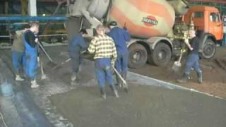 Промышленные полы. Приёмка бетона (этап 3).(, 2010-06-24T12:53:03.000Z)