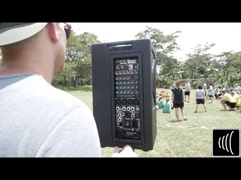 S600B Portable Battery Powered PA System