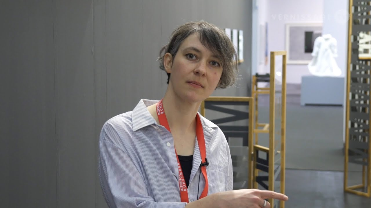 Alex Lebus at Galerie Eigen + Art at Art Cologne 2015