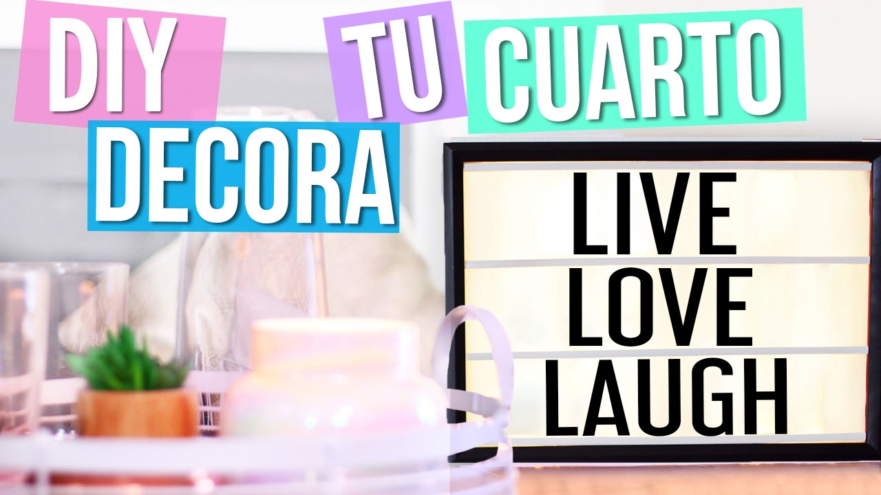 Diy cinema light box decora tu cuarto estilo tumblr - Decora tu habitacion online ...