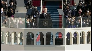 Full speech: President Joe Biden speaks at his inauguration