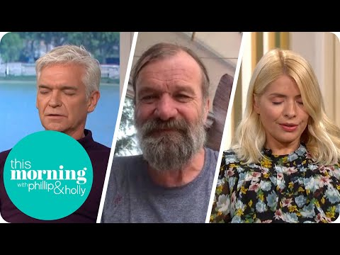 Wellness Guru Wim Hof Leads Phillip & Holly in Breathing Masterclass | This Morning