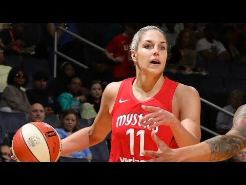 Elena Delle Donne Dishes A Career-High 7 Assists To Go Along With 13 Points In 2018 Opener!