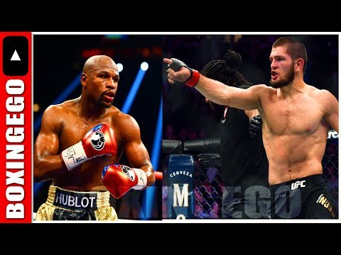 Dana McKenzie - Khabib Nurmagomedov, Floyd Mayweather RESPONDS on talking possible fight
