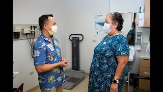 The first patient to undergo elective bariatric weight-loss surgery at queen's medical center-west o'ahu faced additional concerns during covid-19 p...