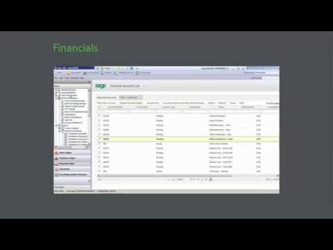 Sage 200 - Financials