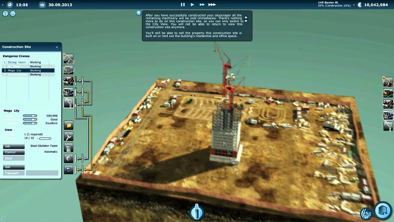 Skyscraper Simulator Provides a Realistic Simulation of how Skyscrapers Are  Built