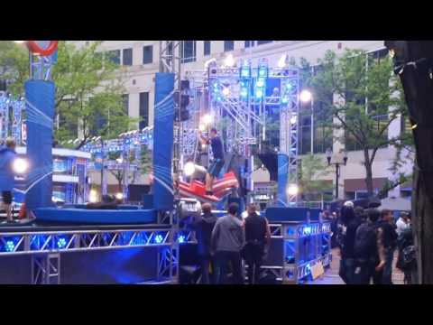 American Ninja Warrior course tester Indianapolis - Entire Stage 1