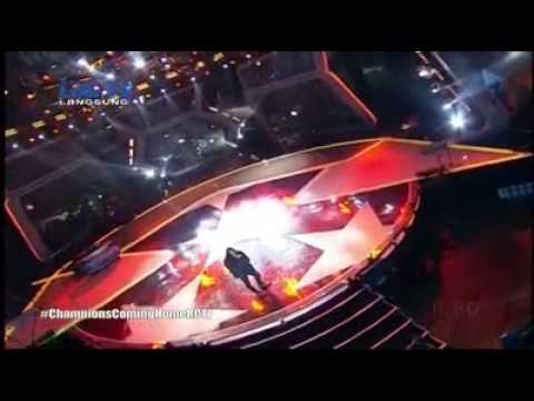Merinding .. Virzha - Hadirmu @ Go Champions Concert RCTI