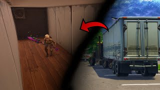 How to get inside ANY CAMION in Fortnite (Bug Fortnite BR)