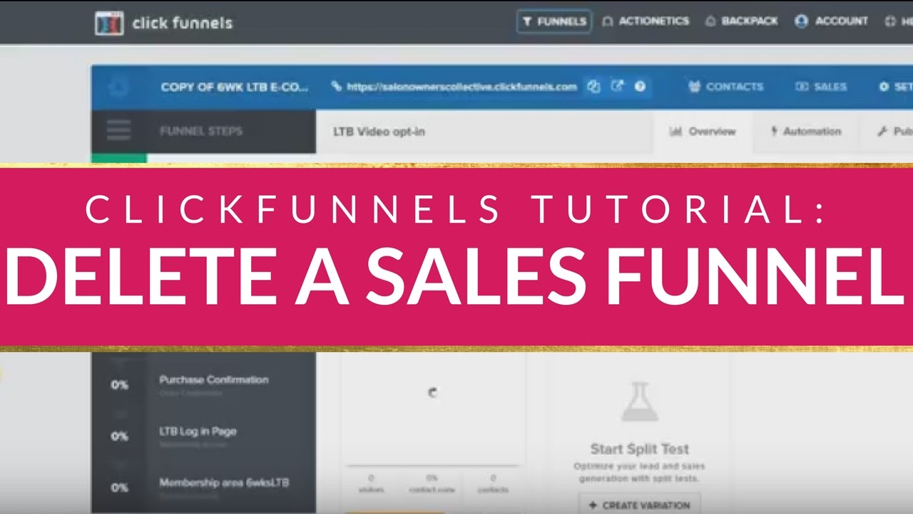 What Does Cancel Clickfunnels Do?