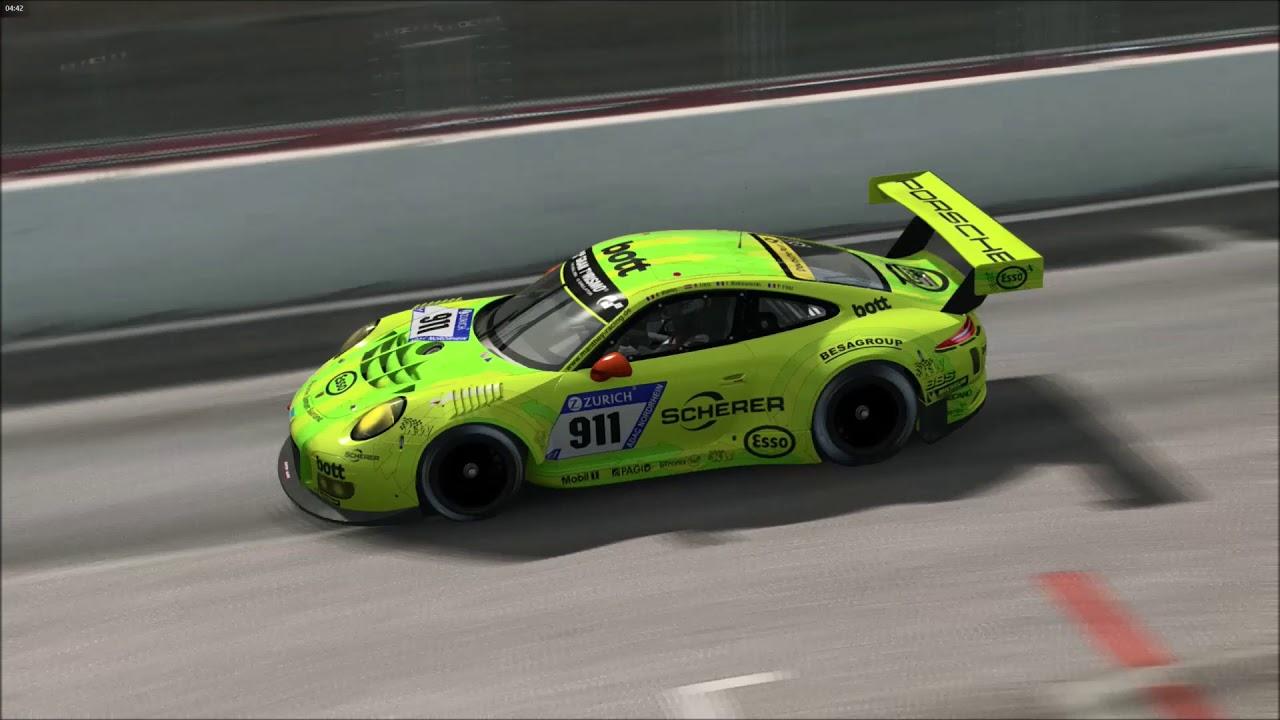 Circuito De Spa Francorchamps : Race room racing circuito de spa francorchamps porsche 911 gt3 r