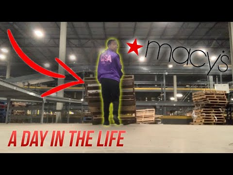 A Day In The Life Of A WAREHOUSE Worker...I Almost Got FIRED Today!