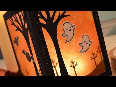 How to make a Halloween lantern