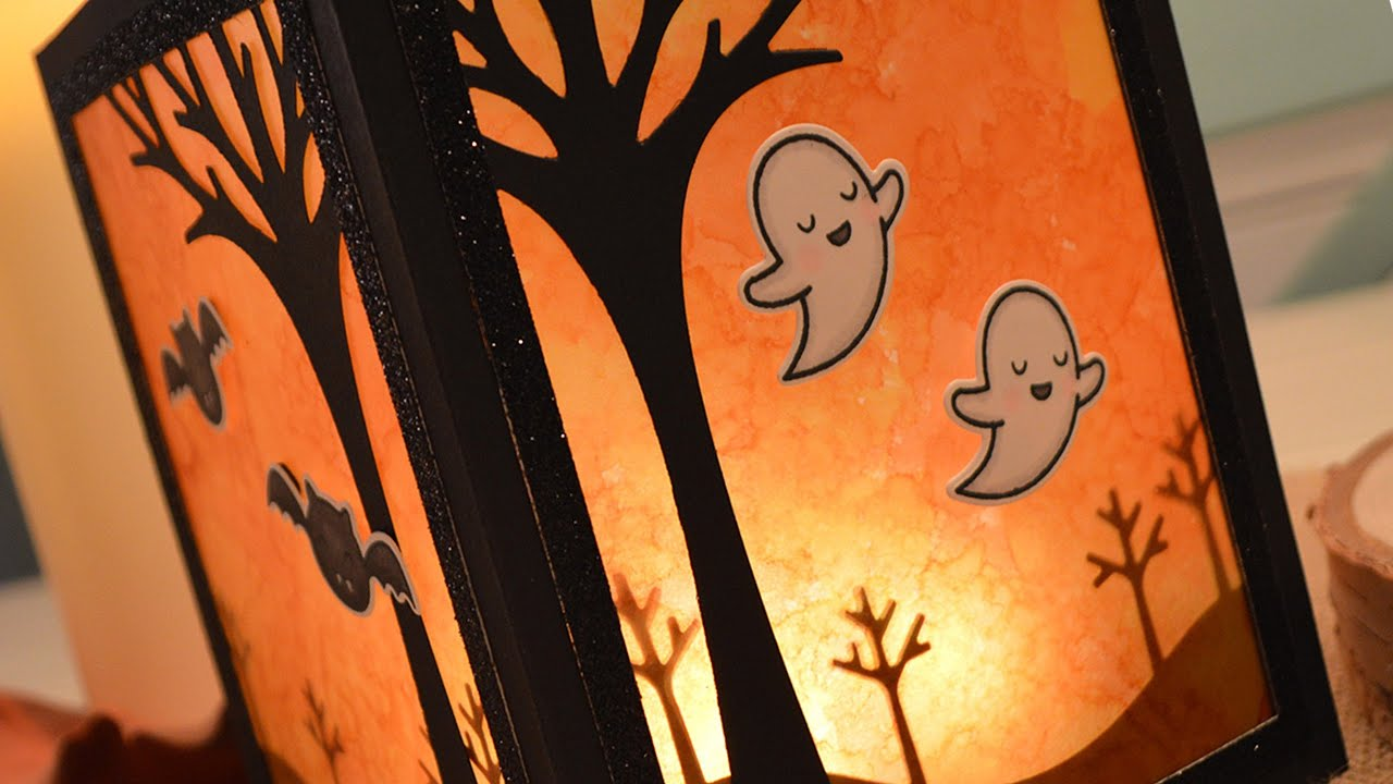 how to make a halloween lantern youtube - How To Make Halloween Lanterns