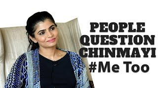 Singer Chinmayi on Vairamuthu issue and #MeToo | JFW Exclusive