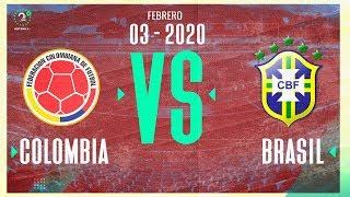 Colombia vs Brasil EN VIVO | 03/02/2020