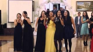 Красивое поздравление на свадьбе, Астана