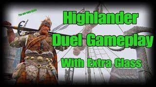 For Honor Highlander 1v1 Duel Gameplay - Season 3