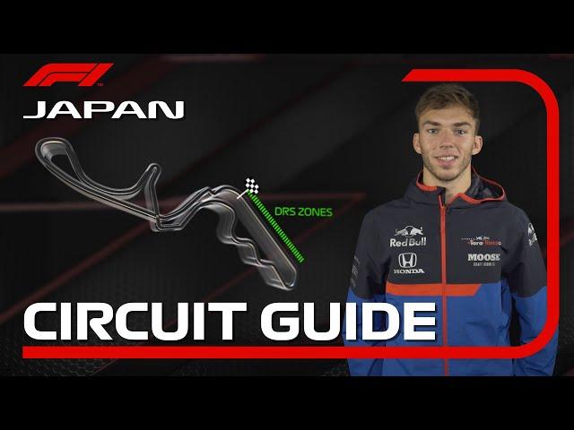 Pierre Gasly's Guide To Suzuka Circuit | 2019 Japanese Grand Prix