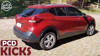 Nissan Kicks PCD (1.6 S Direct)!! O que ele oferece além do design? EP 5 - Avaliação VeiculARTE