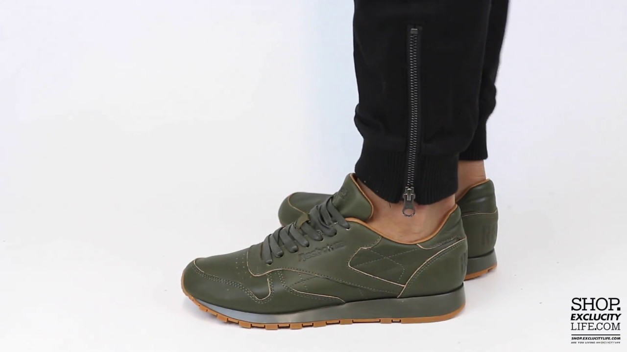 Reebok CL Leather Lux Kendrick Lamar On feet Video at Exclucity ... 9f54f754a