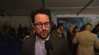 A Wrinkle InTime LA World Premiere - Itw JJ Abrams  (Official video)