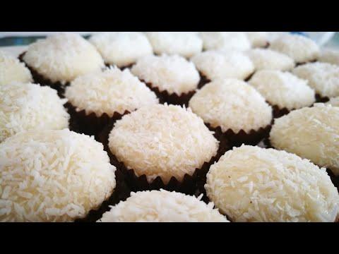 petits-gÂteaux-noix-de-coco- -recette-facile-et-rapide-des-perles-de-coco-fondant-chocolat-blanc