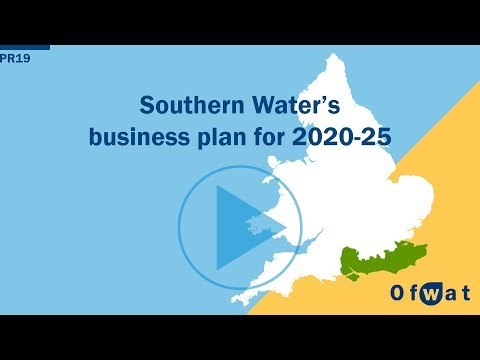 Southern Water's business plan for 2020-25