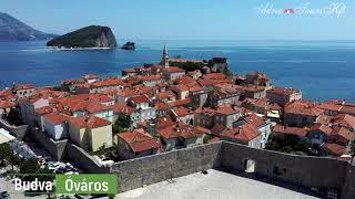 Adria Tours Montenegró Budva Drone videó